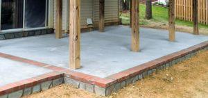 Concrete Patio from Wright's Concrete