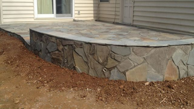 Flagstone Patio in Herndon, VA
