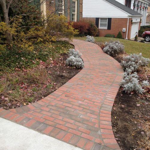 Brick Walkway in Alexandria, VA - Wright's Concrete