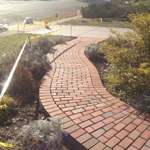 Brick Walkway in Alexandria, VA - Wright's Concrete