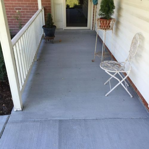 Driveway, Carport, Porch in Springfield VA - Wright's Concrete