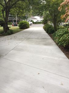 repair Concrete Drive with Drain, Pennsylvania Variegated Flagstone Entryway & Sidewalk in Annandale, Virginia - Wright's Concrete