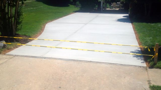 Concrete Driveway in Ashburn, Virginia - Wright's Concrete