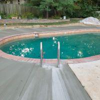 Cement Swimming Pool Deck in Mount Vernon, VA - Wright's Concrete