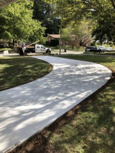 Concrete Driveway in Vienna, Virginia - Wright's Concrete