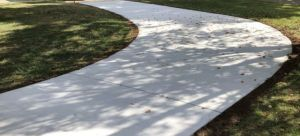 Concrete Driveway from Wright's Concrete