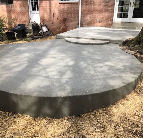 Concrete Patio in Vienna, VA from Wright's Concrete